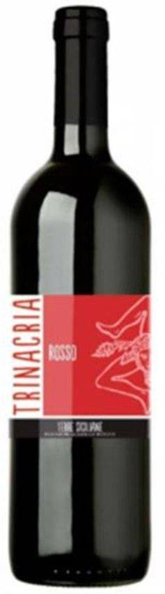 Vinho Tinto Trinacria Rosso - 750ml -