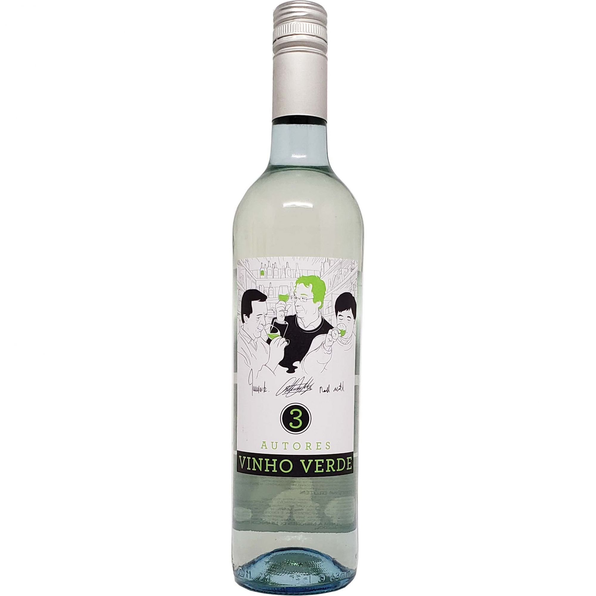 Vinho Verde 3 Autores - 750ml -