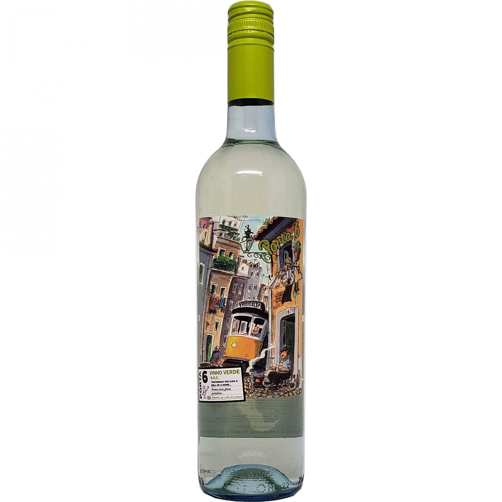 Vinho Verde Porta 6 - 750ml -