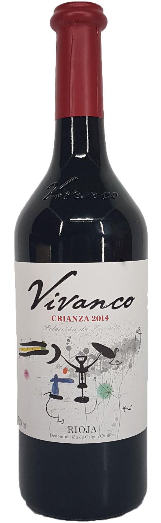 Vinho Vivanco Crianza Rioja - 750ml -