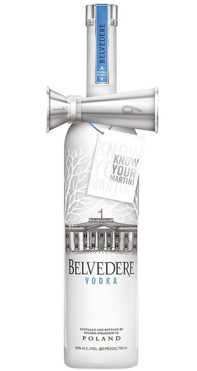 Vodka Belvedere Dosador Bow Tie 700 ml