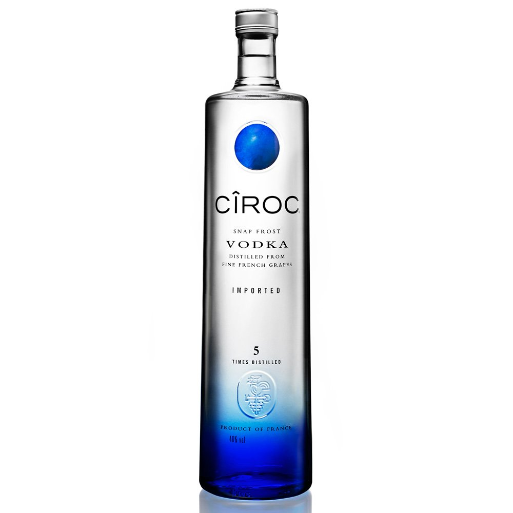 Vodka Ciroc Tradicional (azul) 750ml