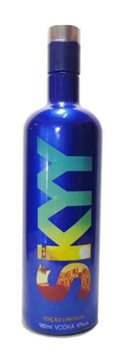 Vodka SKYY Edição Limitada San Francisco - 980ml