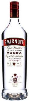 Vodka Smirnoff Triple Distilled - 998ml