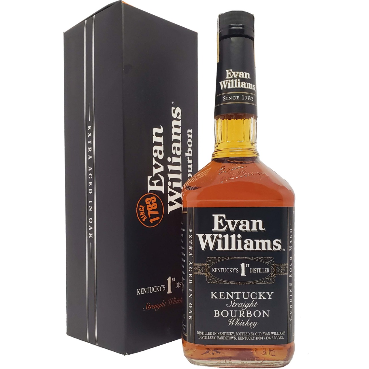 Whisky Evan Williams Bourbon Kentucky´s 1ST Distiller  - 1L -