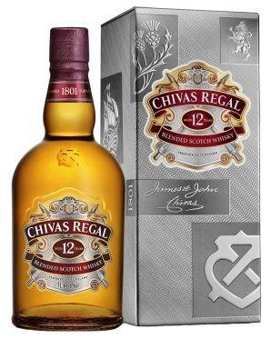Whisky Chivas Regal 12 anos - 1L -