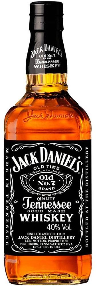 Whisky Jack Daniel's No.7 Tennessee Whiskey - 1L