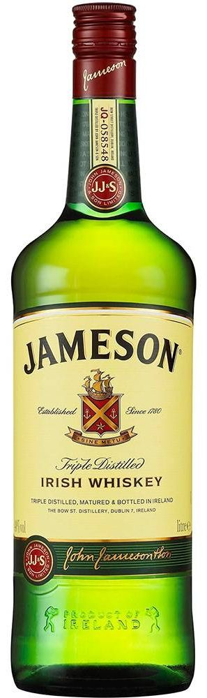 Whisky Jameson Irish Whiskey - 1L -