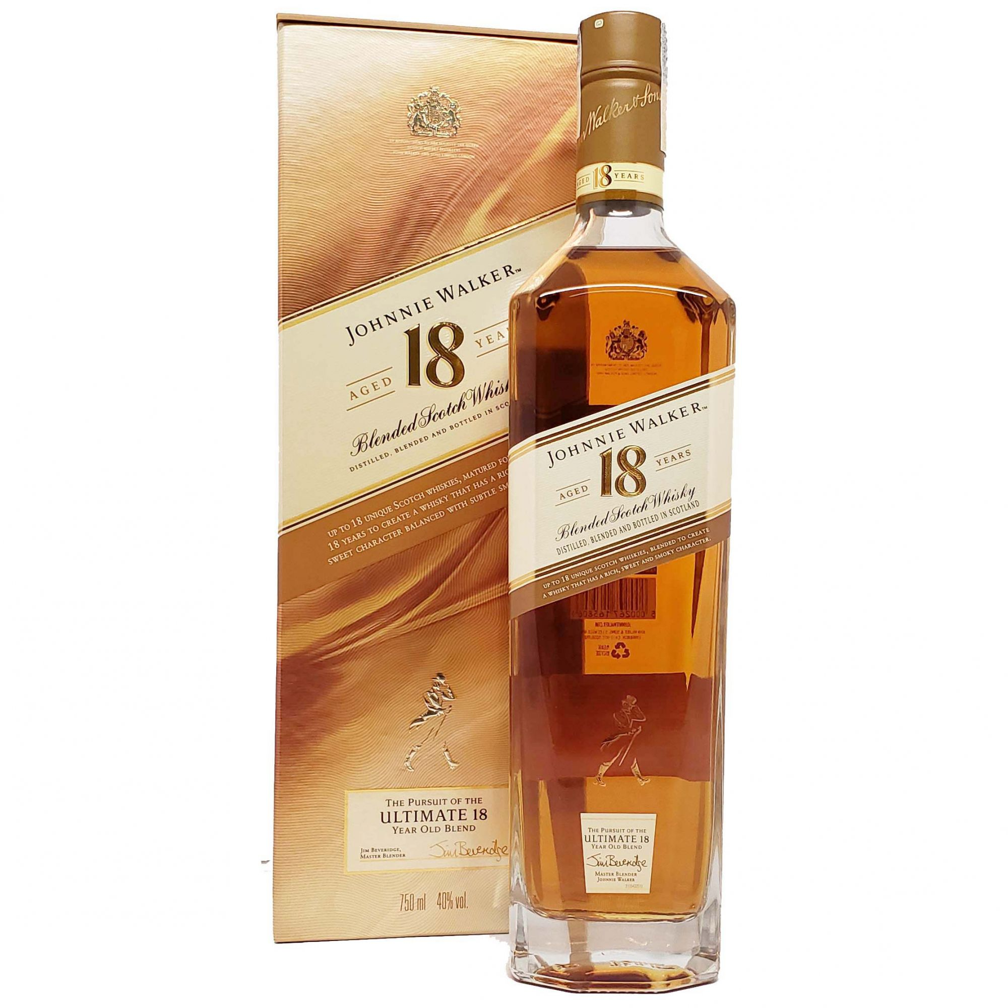 Whisky Johnnie Walker 18 anos - 750ml -