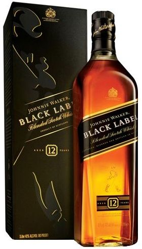 Whisky Johnnie Walker Black Label 12 anos - 750ml -