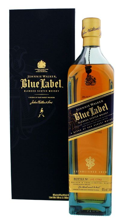 Whisky Johnnie Walker Blue Label - 750 ml -