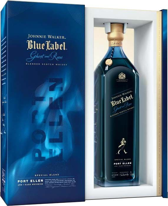 Whisky Johnnie Walker Blue Label Ghost and Rare Port Ellen - 750ml -