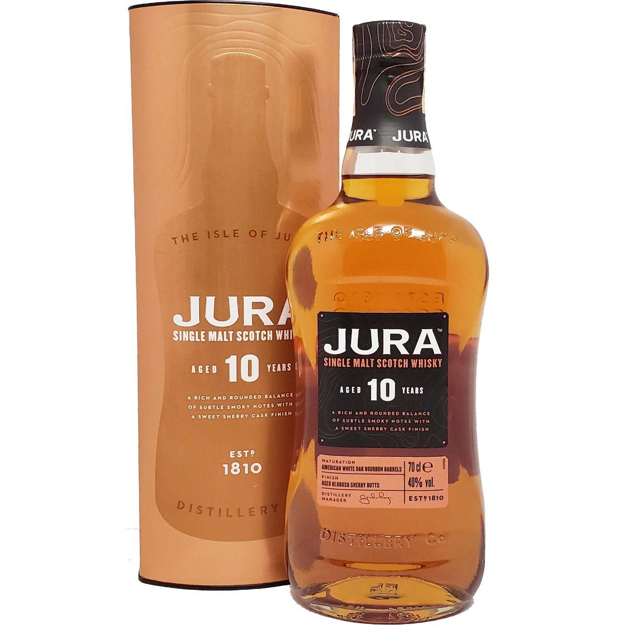 Whisky Jura 10 anos - 700ml -