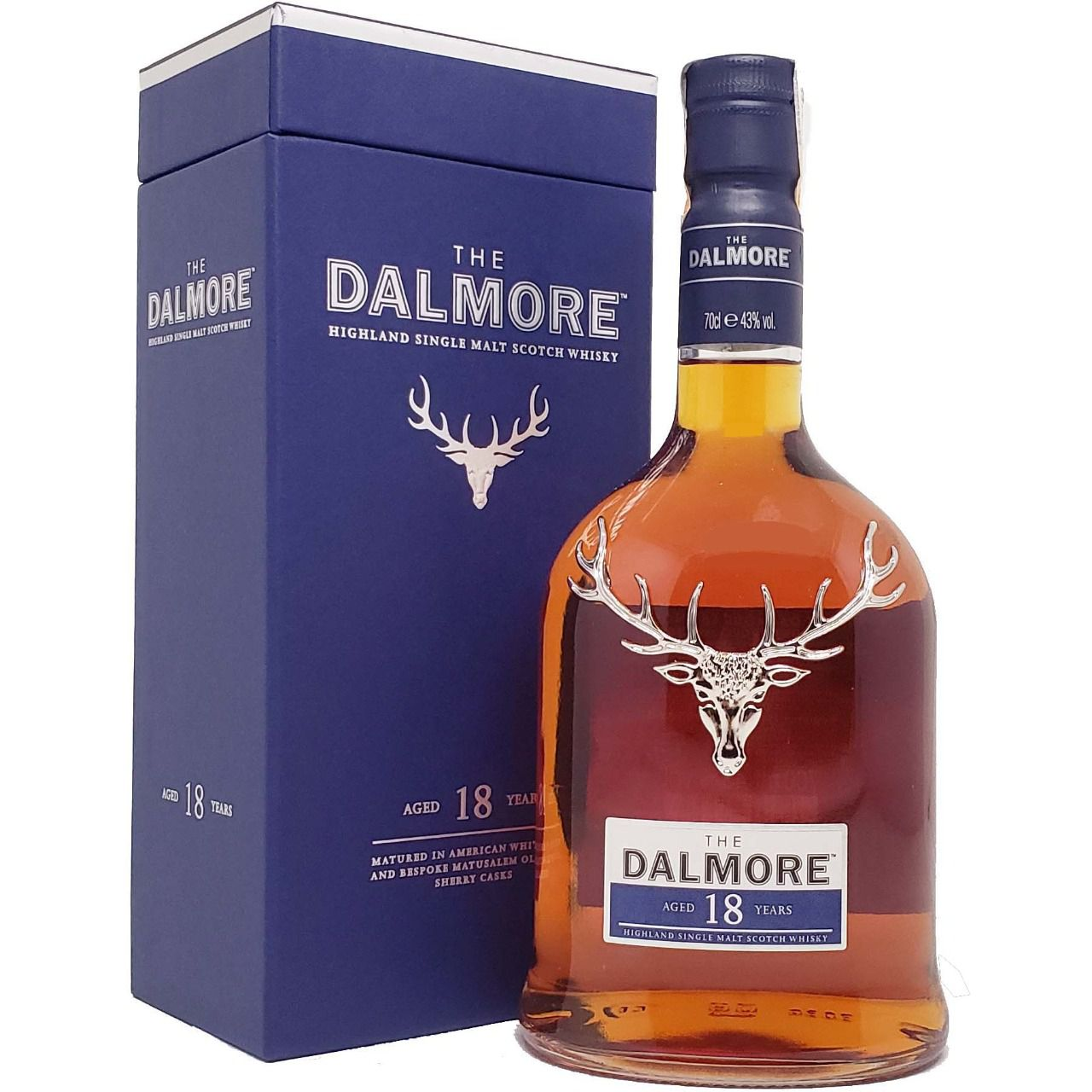 Whisky The Dalmore 18 anos - 700ml -