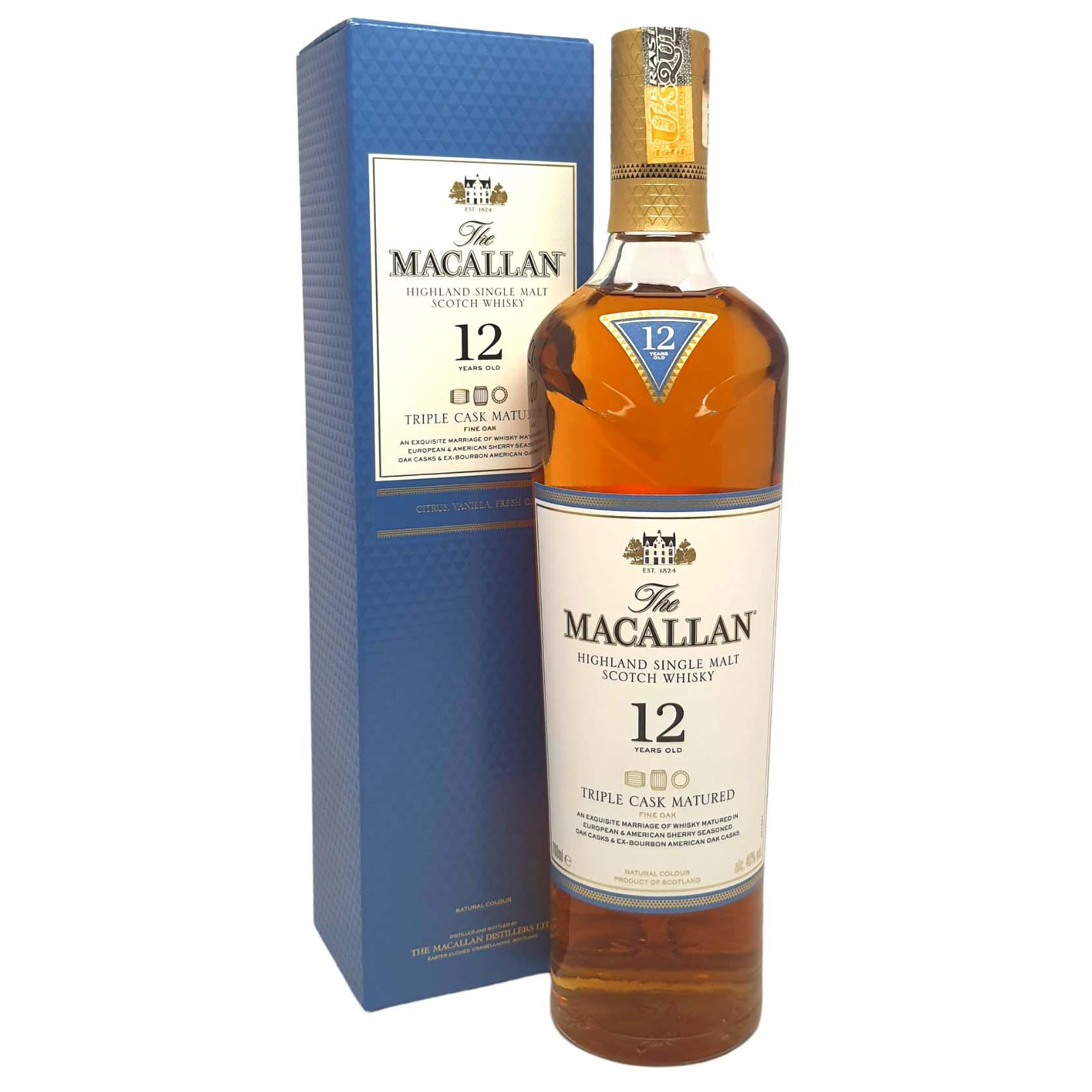 Whisky The Macallan 12 anos - 700ml -