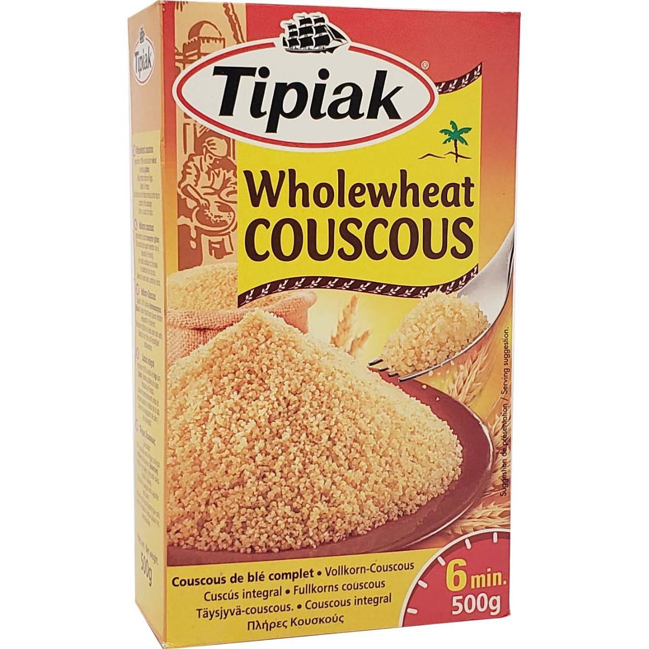 Wholewheat Couscous Tipiak - 500gr -