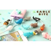 Protetor de Cabo iPhone Divertido Bichinhos Cable Bite Pet Plugue