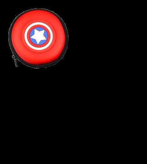 Bolsinha para Fones e Cabos de Celular Personagens Kit Completo