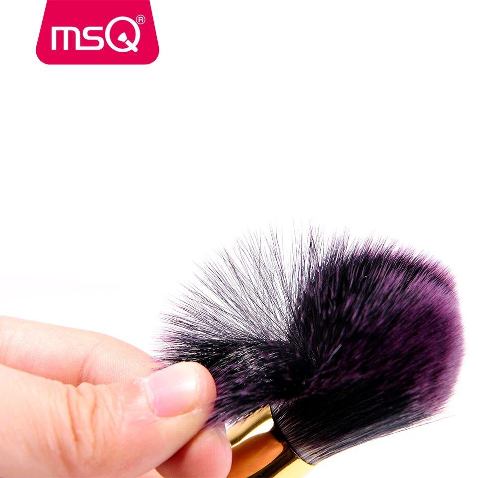 Kit 8 Pincéis De Maquiagem Profissionais Msq