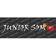 Adesivo Junior Som  23 x 4 cm
