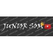 Adesivo Junior Som 80 x 14 cm