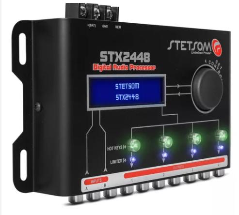 Processador de Áudio Digital Stetsom STX2448