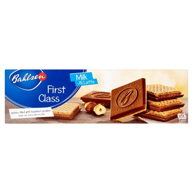 Biscoito Bahlsen First Class Milk 125g
