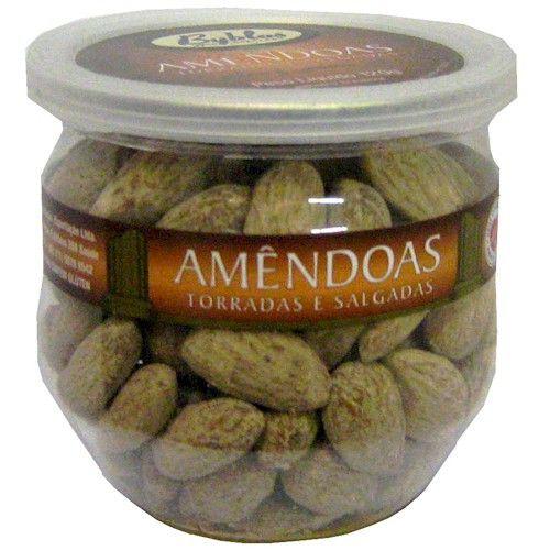 Amendoa Torrada e Salgada 120g - Byblos