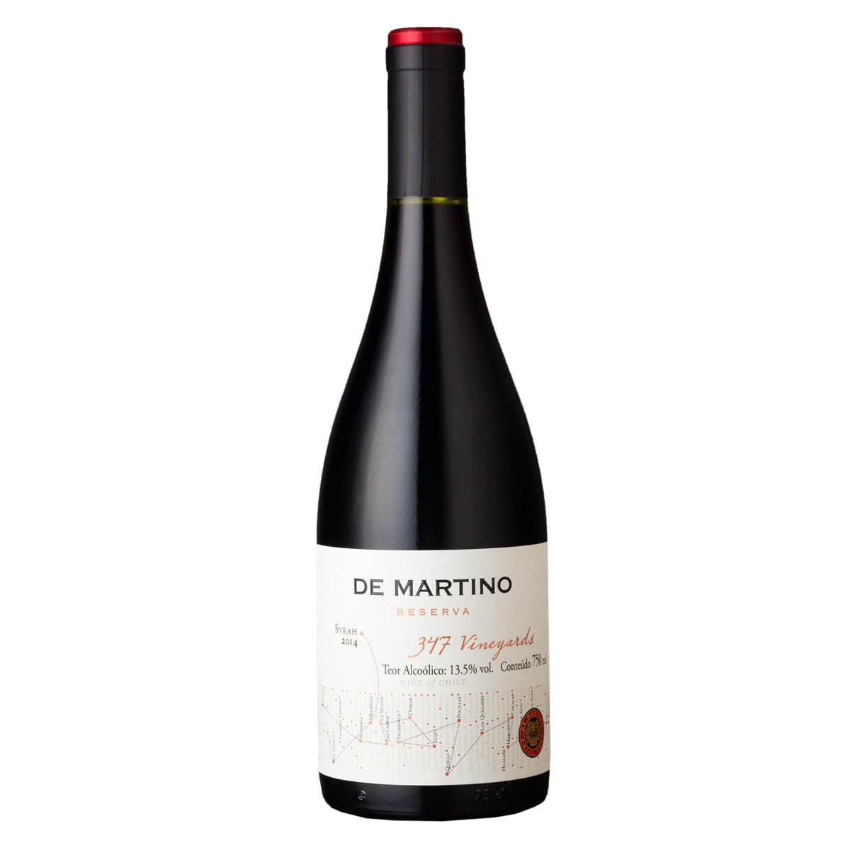 De Martino Syrah Reserva 347 Vineyards