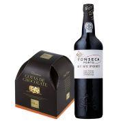 Kit de Natal -  Porto Ruby e Panettone Ofner Gota de Chocolate