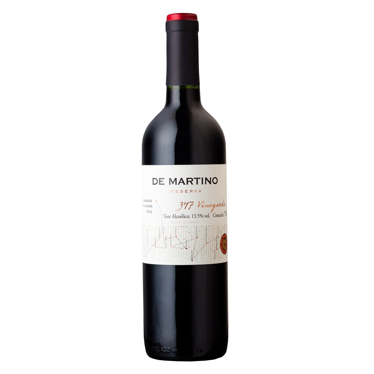 De Martino Cabernet Sauvignon Reserva 347 Vineyards