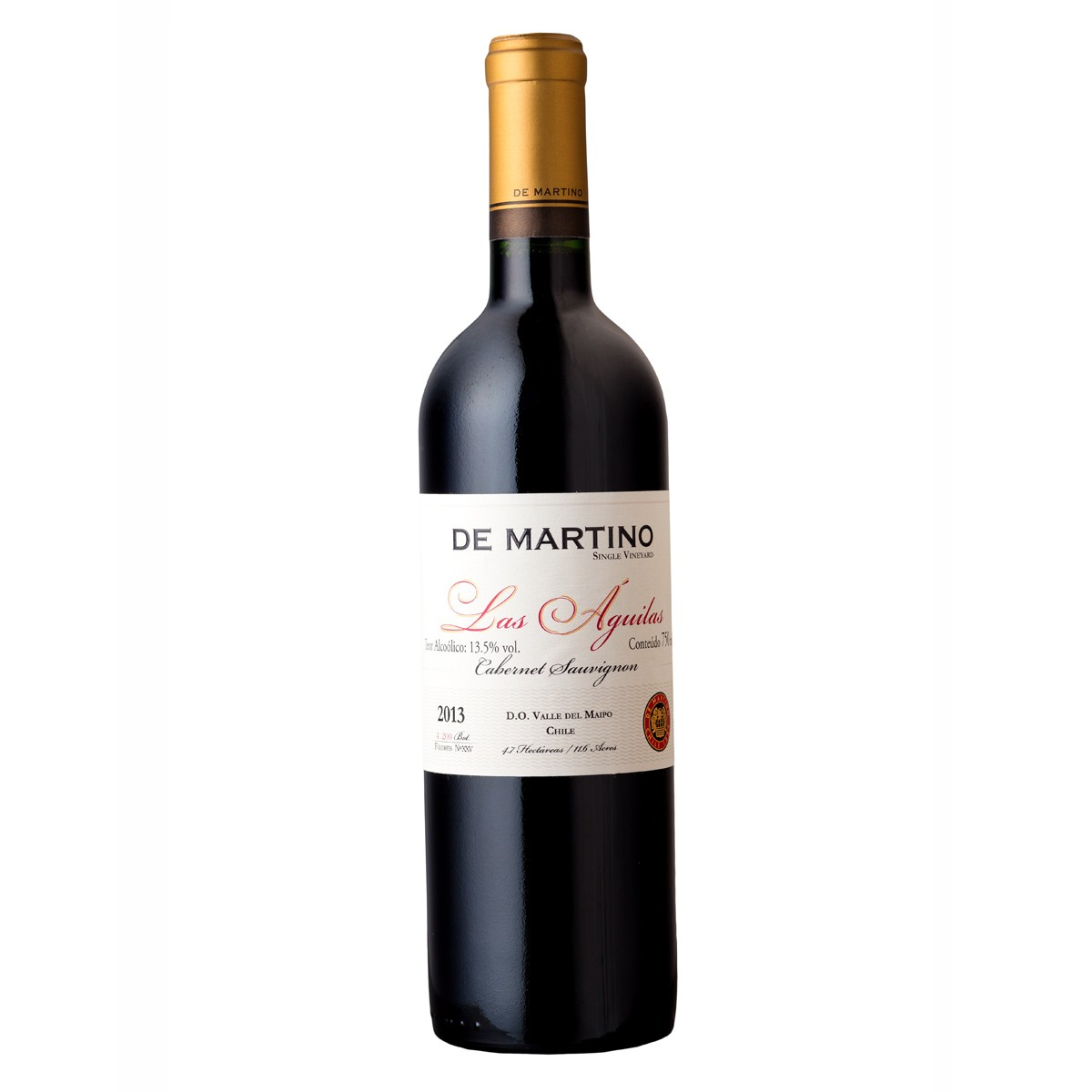 De Martino Cabernet Sauvignon Single Vineyard Las Aguilas