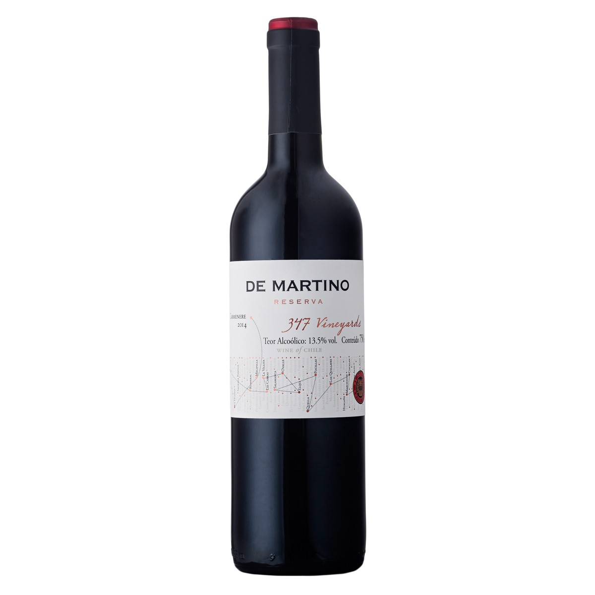 De Martino Carmenere Reserva 347 Vineyards