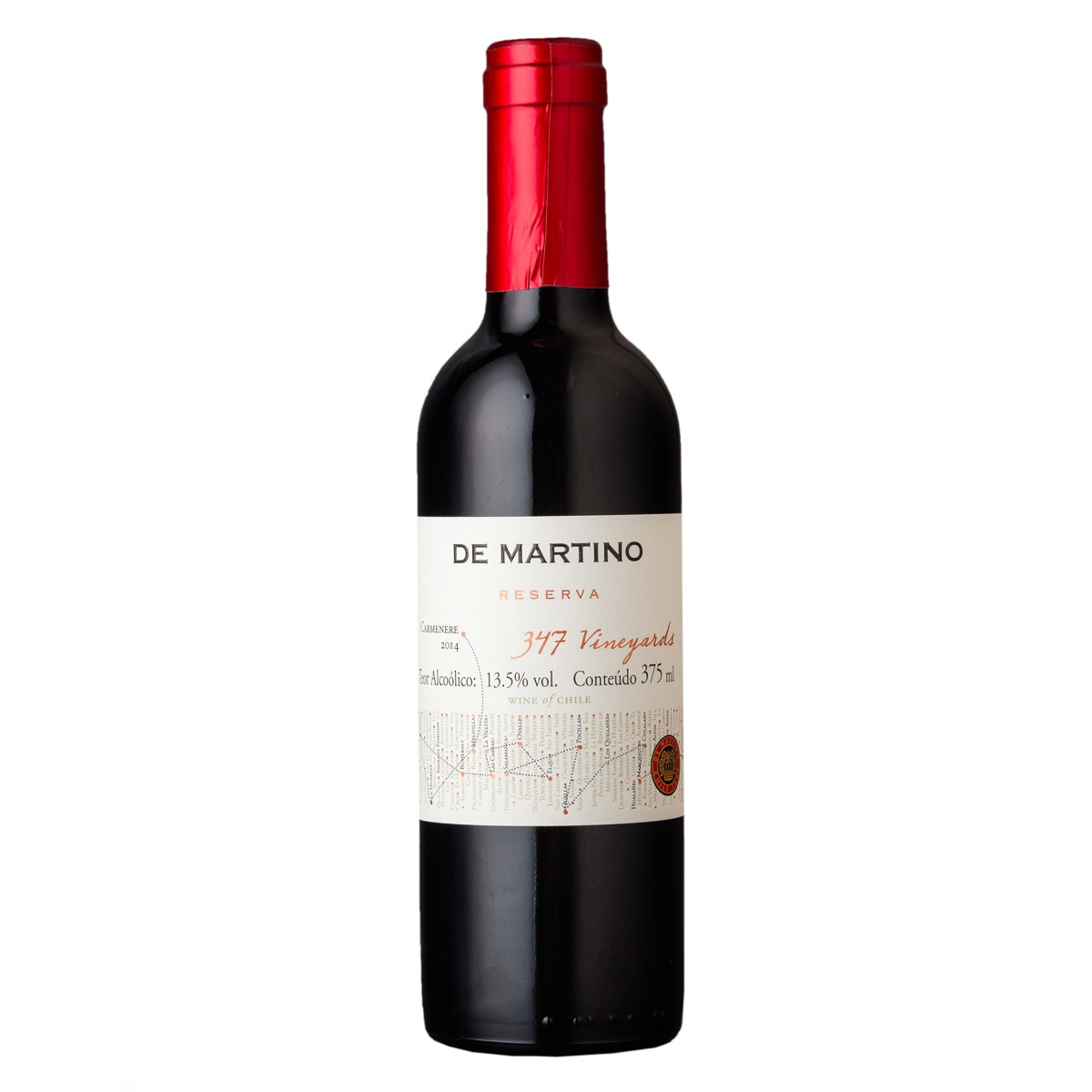 De Martino Carmenere Reserva 347 Vineyards 375 ml