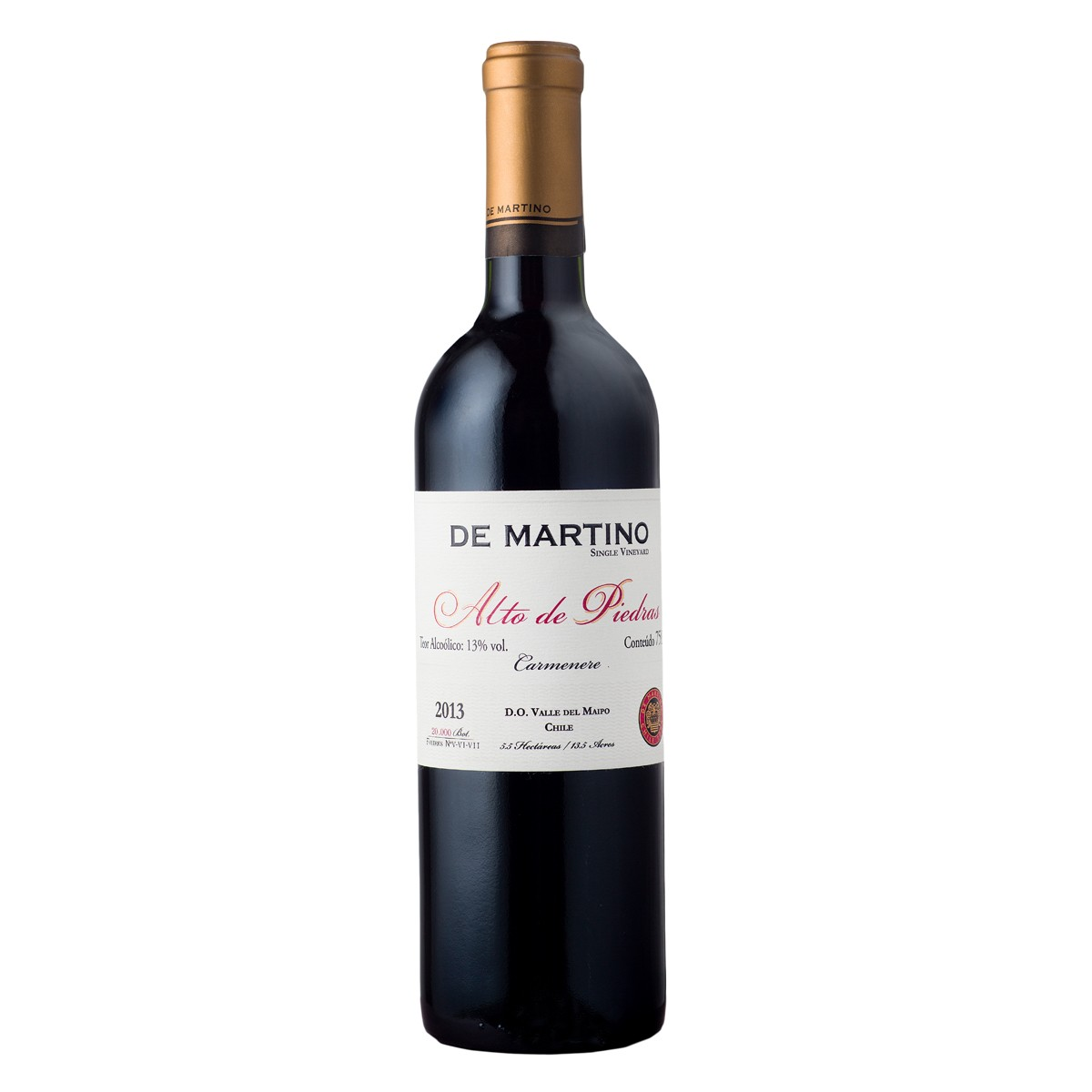De Martino Carmenere Single Vineyard Alto De Piedra