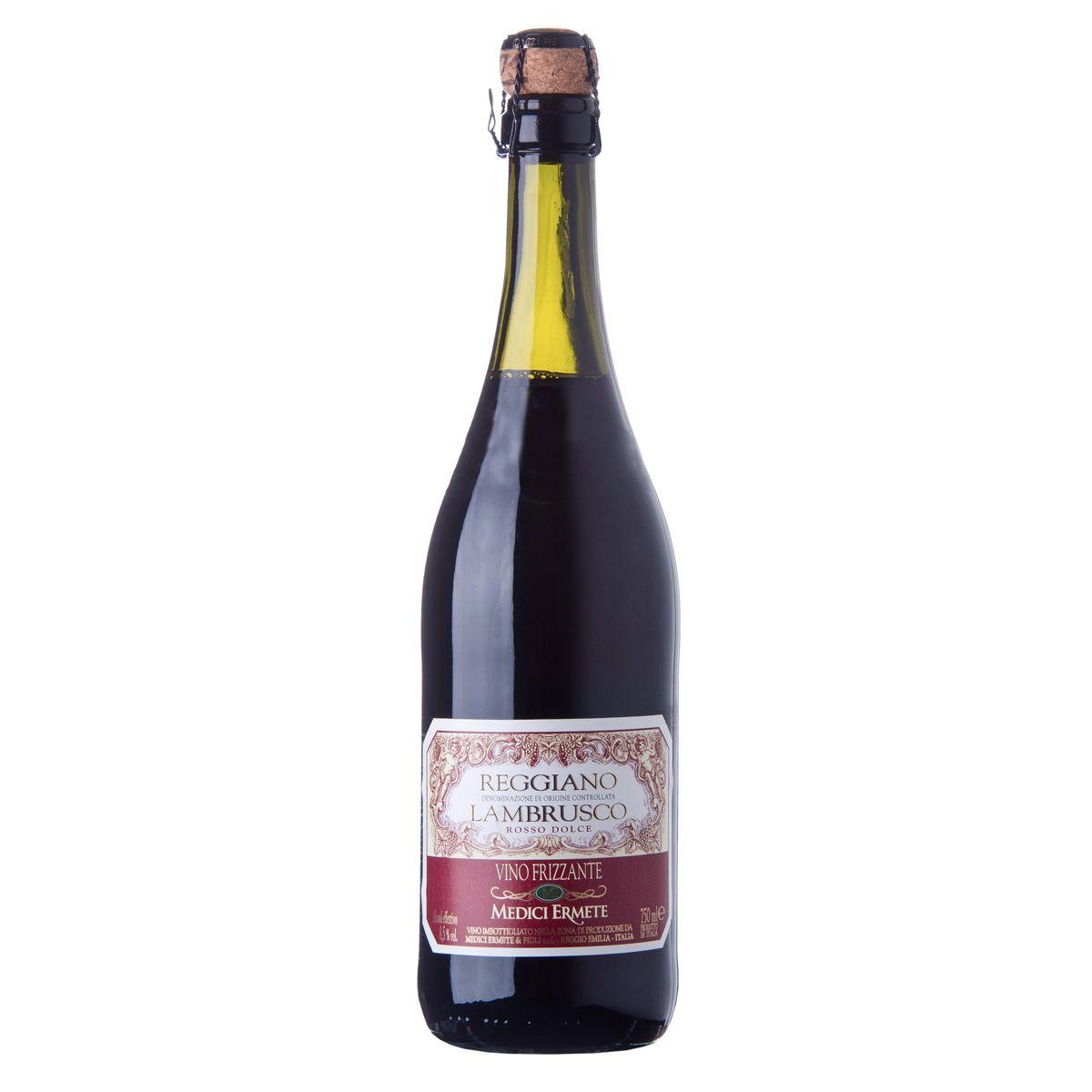 Lambrusco Reggiano Rosso Dolce Tradizionale