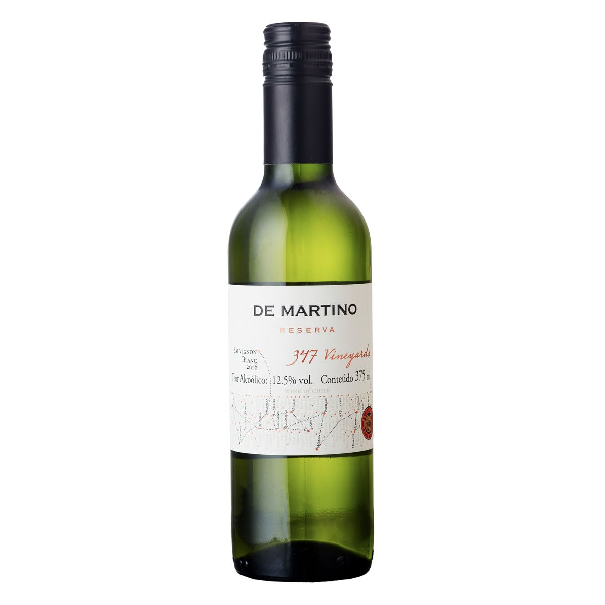De Martino Sauvignon Blanc Reserva 347 Vineyards 375ml
