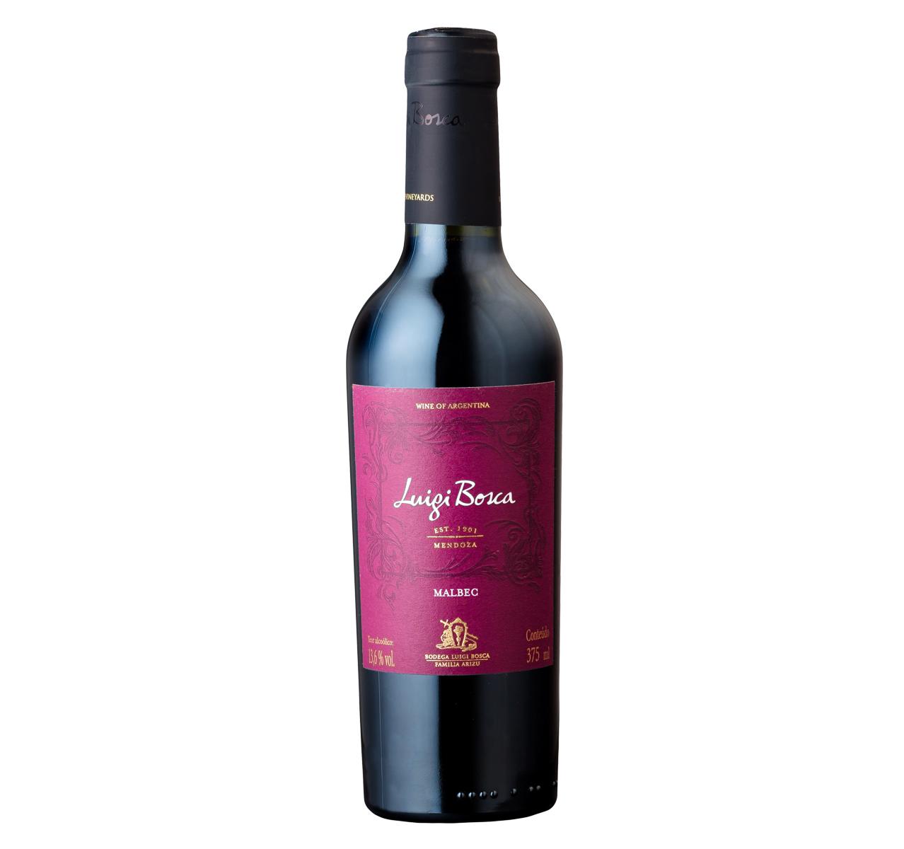 Vinho Tinto Luigi Bosca Malbec 375ml