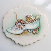 Curso Biscoitos Decorados: Aquarela Beatrix Potter