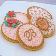 Curso Biscoitos Decorados: Clássico com Monograma