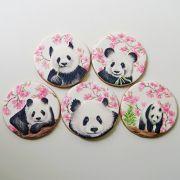 Curso Biscoitos Decorados: Pintura Estilo Pastel Seco Panda