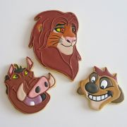 Curso Biscoitos Decorados: Rei Leão