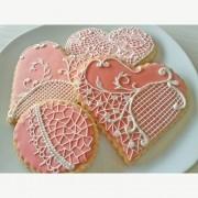 Curso Biscoitos Decorados: Rendas e Brush Embroidery