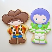 Curso Biscoitos Decorados: Toy Story Kids