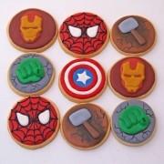 Curso Biscoitos Decorados: Vingadores