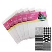 Placas Marcadoras Texturizadas (Tecido)