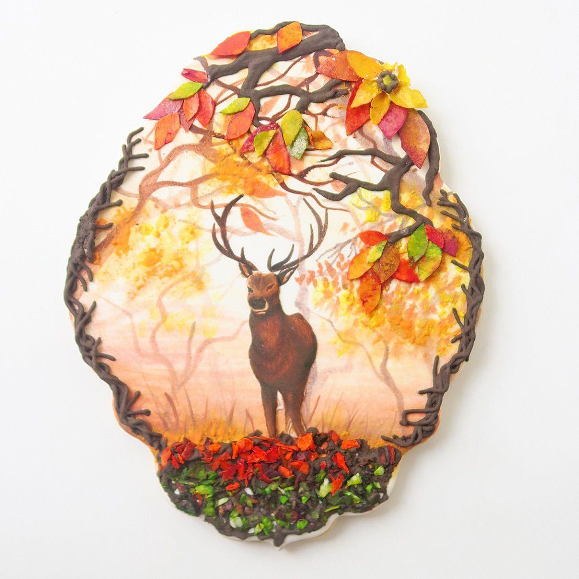 Curso Biscoitos Decorados: Aquarela Outono