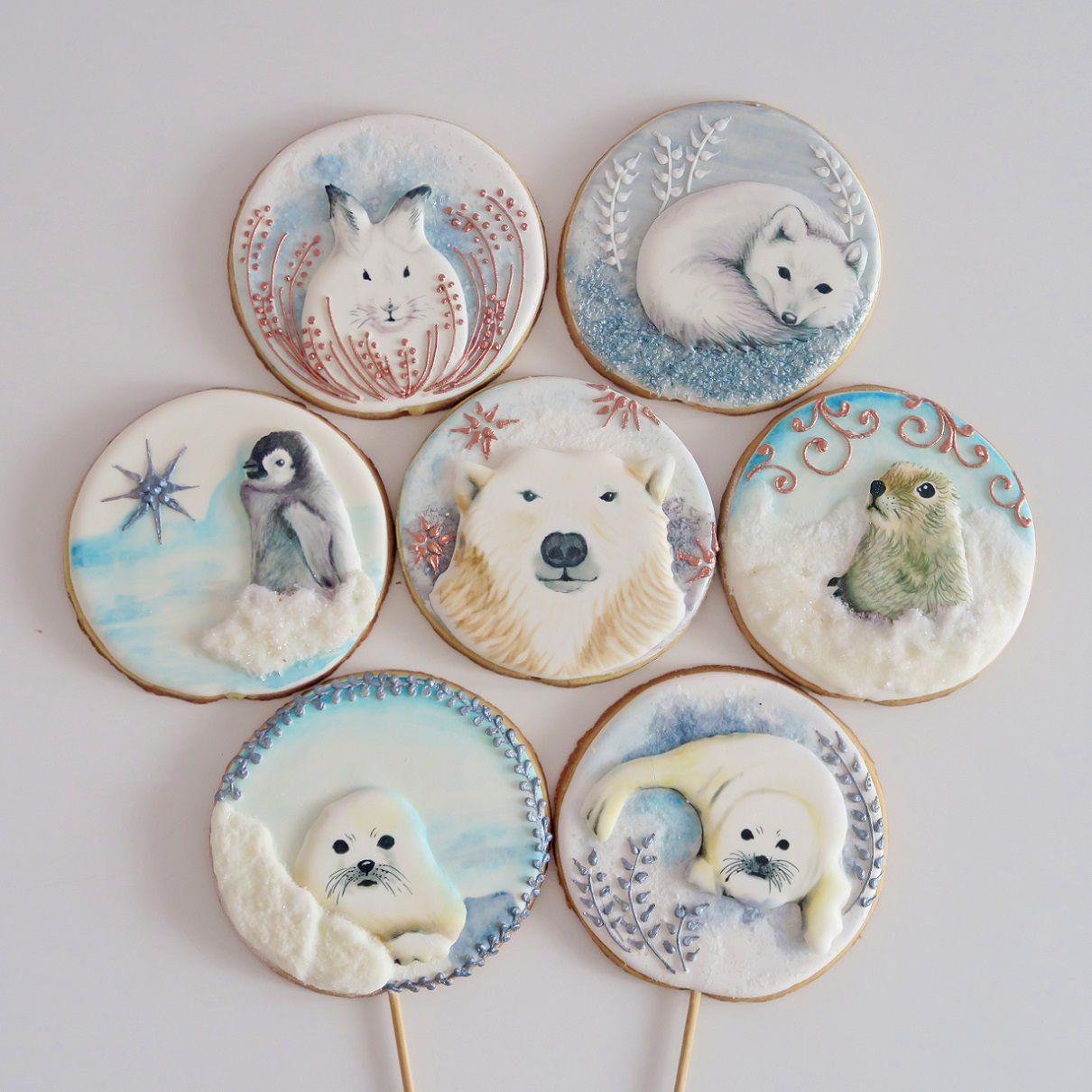 Curso Biscoitos Decorados: Bichinhos da Neve