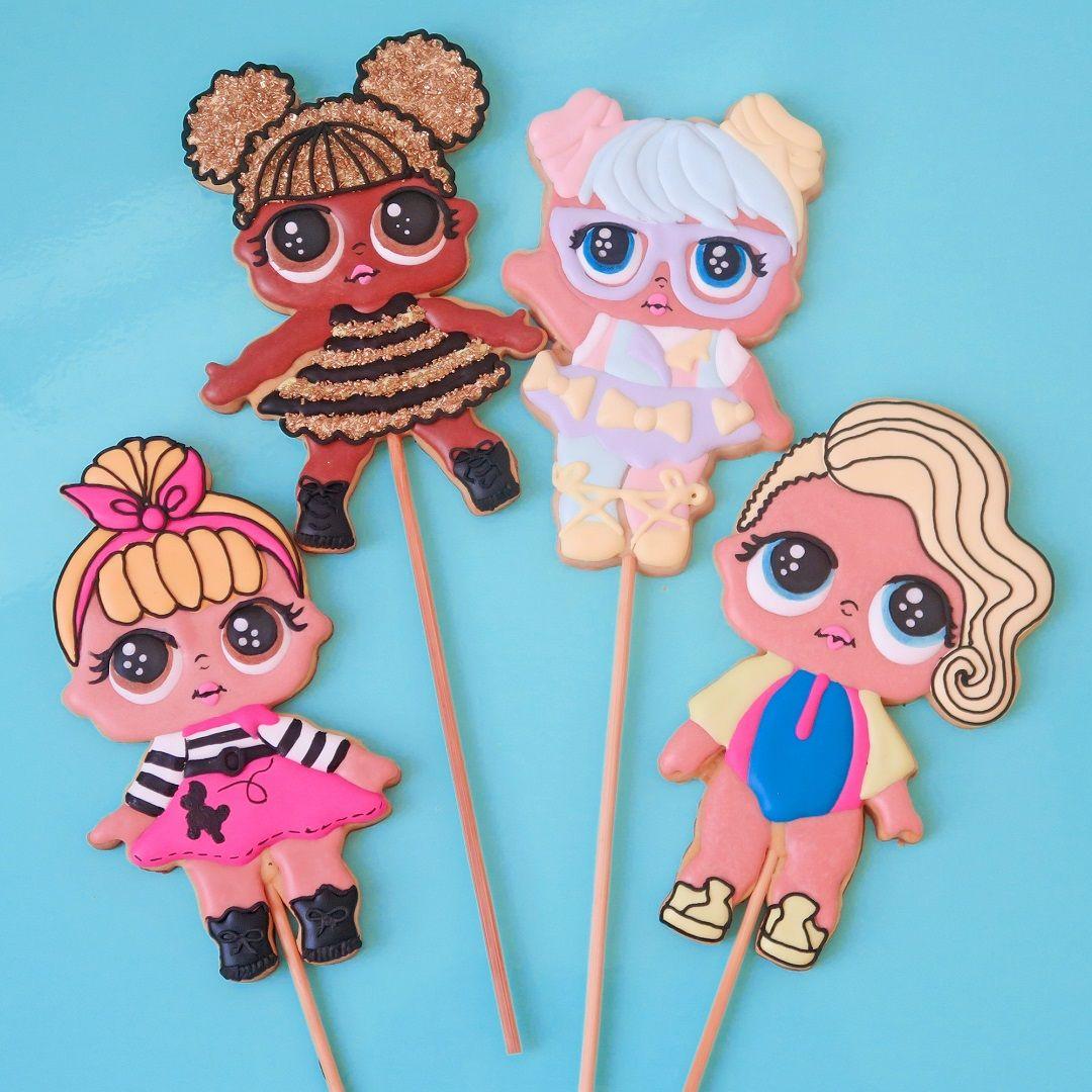 Curso Biscoitos Decorados: Bonequinhas LOL