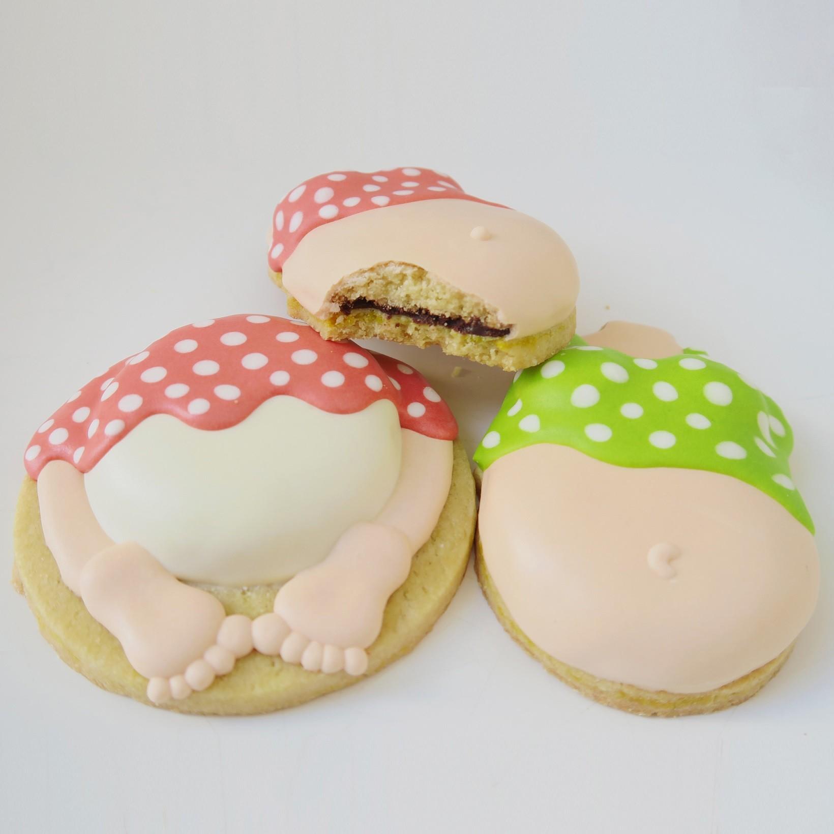 Curso Biscoitos Decorados: Chá de Bebê com Relevo e Recheio Invisível